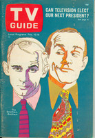 1968 TV Guide Feb 10 Smothers Brothers Eastern New England edition Excellent - No Mailing Label  [Lt scuffing along binding; ow clean]