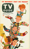 1953 TV Guide Apr 17 TV Ratings (Milton Berle, Godfrey, Lucy, Caesar) Northwest edition Good to Very Good - No Mailing Label  [Tape repair on cover over teariong; ow clean]