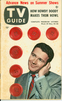 1953 TV Guide May 22 Red Buttons NY Metro edition Very Good - No Mailing Label  [Heavy toning on covers; contents fine]