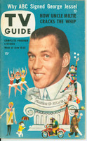 1953 TV Guide Jun 19 Ed Sullivan Philadelphia edition Very Good to Excellent - No Mailing Label  [Wear and creasing on both covers; contents fine]