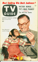 1953 TV Guide Jul 10 Dave Garroway of the Today Show Chicago edition Excellent - No Mailing Label  [Lt toning on cover; ow clean]
