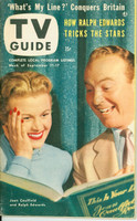 1953 TV Guide Sep 11 Joan Caulfield and Ralph Edwards on This Is Your Life Chicago edition Excellent to Mint - No Mailing Label  [Lt wear on cover; ow very clean]