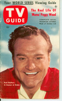 1953 TV Guide Oct 2 Red Skelton NY Metro edition Very Good to Excellent - No Mailing Label  [Lt wear on cover, contents fine; address stamped on reverse]