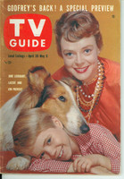 1960 TV Guide Apr 30 June Lockhart and Lassie Southern Ohio edition Excellent - No Mailing Label  [Sl bend along binding, ow clean]