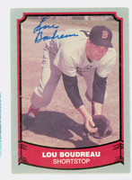 Lou Boudreau AUTOGRAPH d.01 1988|89 Pacific Legends Red Sox 