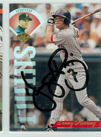 Dennis Hocking AUTOGRAPH 1995 Leaf Twins 