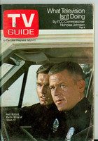 1969 TV Guide Jul 5 Adam 12 Wisconson edition Very Good to Excellent - No Mailing Label  [Wear and creasing on cover; contents fine]