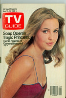 1980 TV Guide Aug 23 Genie Francis of General Hospital Dayton edition Very Good to Excellent - No Mailing Label  [Sl loose at staples, lt wear on cover, contents fine]