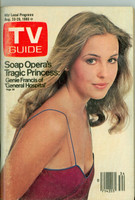 1980 TV Guide Aug 23 Genie Francis of General Hospital Hartford-New Haven edition Excellent - No Mailing Label  [Scuffing and wear on cover; contents fine Hartford/New Haven]