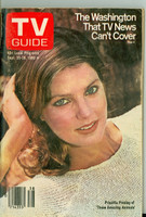 1980 TV Guide Sep 20 Priscilla Presley Eastern Illinois edition Excellent - No Mailing Label  [Lt wear on cover, contents fine]