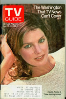 1980 TV Guide Sep 20 Priscilla Presley Illinois-Wisconsin edition Near-Mint  [Very lt wear, ow very clean]
