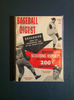 1960 Baseball Digest March Scouting Reports Near-Mint