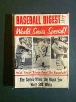 1967 Baseball Digest October World Series Excellent to Mint