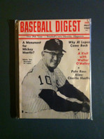 1969 Baseball Digest May Al Lopez Excellent