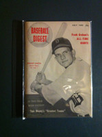 1949 Baseball Digest July Johnny Groth Excellent to Mint
