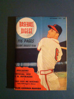 1951 Baseball Digest September Stan Musial Very Good to Excellent