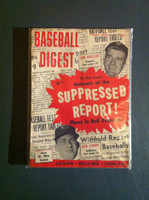1955 Baseball Digest May Bob Lemon - Don Mueller Very Good to Excellent