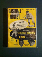 1959 Baseball Digest March Scouting Reports (Sparky Anderson, Johnny Callison) Excellent to Mint