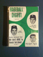 1959 Baseball Digest June Johnny Antonelli - Camillo Pascual Excellent to Mint