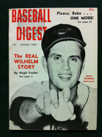 1959 Baseball Digest August Hoyt Wilhelm Excellent to Mint