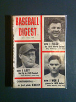 1959 Baseball Digest October World Series Excellent to Mint