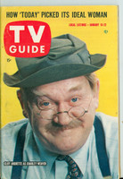 1960 TV Guide Jan 16 Charley Weaver Pittsburgh edition Excellent - No Mailing Label  [Lt wear on cover, ow clean; contents fine]
