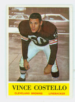 1964 Philadelphia 32 Vince Costello Cleveland Browns Excellent