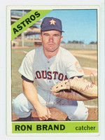 Ron Brand AUTOGRAPH 1966 Topps #394 Astros 