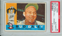 Bud Daley AUTOGRAPH 1960 Topps #8 Athletics PSA/DNA 