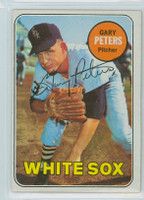 Gary Peters AUTOGRAPH 1969 Topps #34 White Sox 