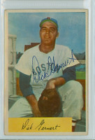 Dick Gernert AUTOGRAPH 1954 Bowman #146 Red Sox  
