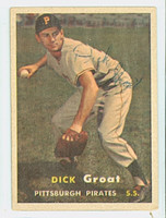 Dick Groat AUTOGRAPH 1957 Topps #12 Pirates 