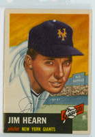 Jim Hearn AUTOGRAPH d.98 1953 Topps #38 Giants SOLID NMT