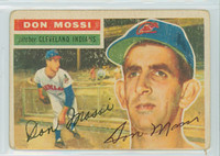 Don Mossi AUTOGRAPH 1956 Topps #39 Indians 