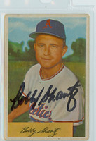 Bobby Shantz AUTOGRAPH 1954 Bowman #19 Athletics  
