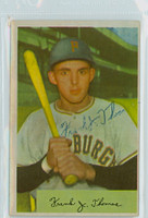 Frank Thomas AUTOGRAPH 1954 Bowman #155 Pirates  
