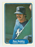 Ron Guidry AUTOGRAPH 1982 Fleer #38 Yankees 
