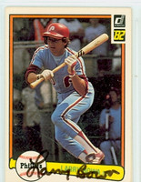 Larry Bowa AUTOGRAPH 1982 Donruss #63 Phillies 