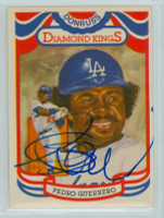 Pedro Guerrero AUTOGRAPH 1984 Donruss #24 Dodgers Diamond King 