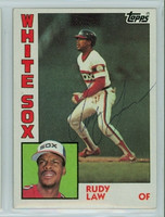 Rudy Law AUTOGRAPH 1984 Topps #47 White Sox   [SKU:LawR6759_T84BBHjl]