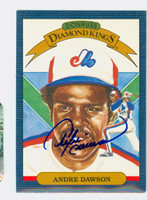 Andre Dawson AUTOGRAPH 1986 Donruss #25 Expos Diamond King 