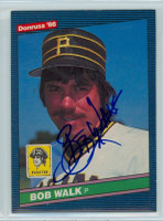 Bob Walk AUTOGRAPH 1986 Donruss #430 Pirates 