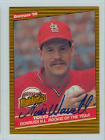 Todd Worrell AUTOGRAPH 1986 Donruss Highlight #29 Cardinals 
