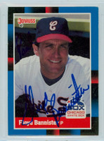 Floyd Bannister AUTO1988 Donruss White Sox 