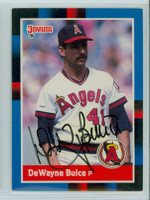 De Wayne Buice AUTOGRAPH 1988 Donruss Angels 