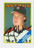 Rocky Childress AUTOGRAPH 1988 Topps Astros 