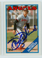 Doug DeCinces AUTOGRAPH 1988 Topps Angels 