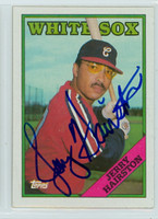 Jerry Hairston AUTOGRAPH 1988 Topps White Sox 