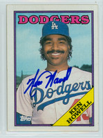 Ken Howell AUTOGRAPH 1988 Topps Dodgers 