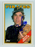 Bob Walk AUTOGRAPH 1988 Topps Pirates 